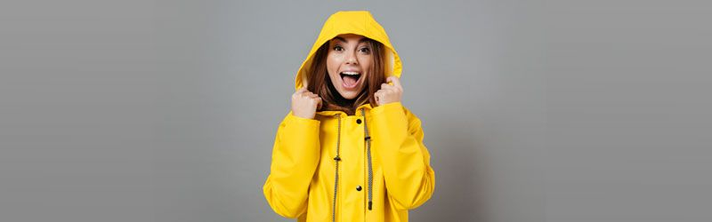How to stay stylishly dry in the rains?