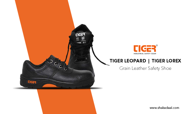 Tiger Shoes: Built for Safety and Comfort of Your Feet.