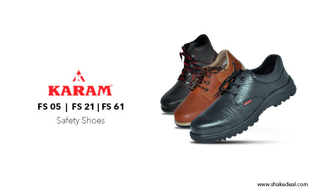 Karam Safety Shoes: The best in class and reasonably priced industrial safety footwear