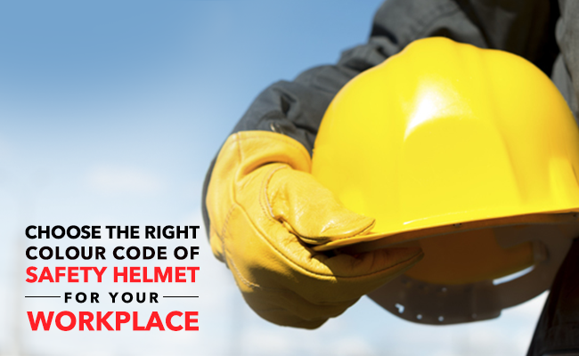 Choose The Right Color Code of Safety Helmets For Your Workplace