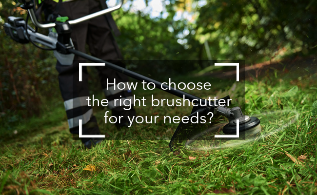 How to choose the right brushcutter for your needs?