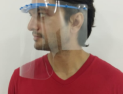 Amaze India - 300 micron, Clear Reusable PPE Face Shield