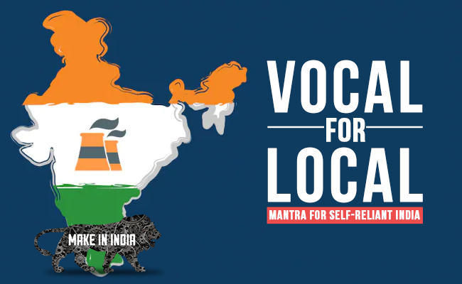 Vocal for Local: Mantra for Self-Reliant India