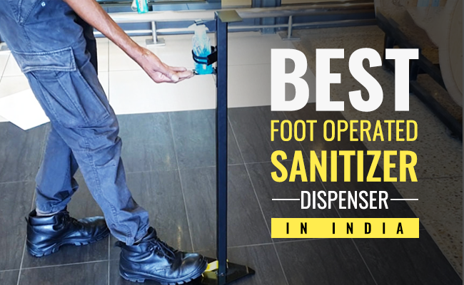 Best Foot Operated Sanitizer Dispenser in India