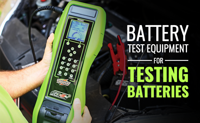 Battery Test Equipment for testing batteries